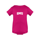 Fuchsia Infant Onesie-Block SMU