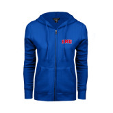 ENZA Ladies Royal Fleece Full Zip Hoodie-Block SMU