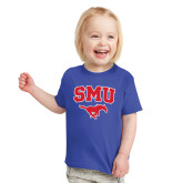 Toddler Royal T Shirt-SMU w/Mustang