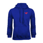 Royal Fleece Hoodie-Official Outlined Logo