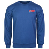 Royal Fleece Crew-Block SMU