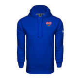 Under Armour Royal Performance Sweats Team Hoodie-SMU w/Mustang
