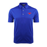 Royal Dry Mesh Polo-Official Outlined Logo
