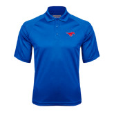 Royal Textured Saddle Shoulder Polo-Official Outlined Logo