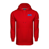 Under Armour Red Performance Sweats Team Hoodie-Block SMU