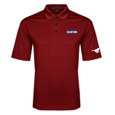 Red Performance Fine Jacquard Polo-2017 AAC Regular Season Champions Mens Basketball Stacked