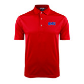 Red Dry Mesh Polo-Block SMU