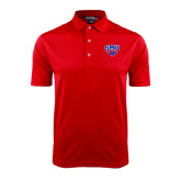 Red Dry Mesh Polo-SMU w/Mustang