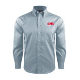 Red House Lt Blue Long Sleeve Shirt-Block SMU