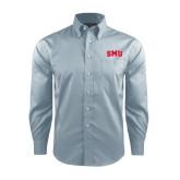 Red House Lt Blue Long Sleeve Shirt-Block SMU