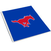 College Spiral Notebook w/Clear Coil-Official Outlined Logo