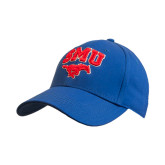 Royal Heavyweight Twill Pro Style Hat-SMU w/Mustang