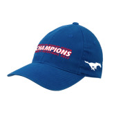 Royal OttoFlex Unstructured Low Profile Hat-2017 AAC Regular Season Champions Mens Basketball Flat