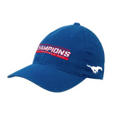 Royal OttoFlex Unstructured Low Profile Hat-American Athletic Conference Champions - Mens Basketball 2017