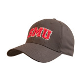 Charcoal Heavyweight Twill Pro Style Hat-Block SMU