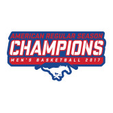 Large Magnet-2017 AAC Regular Season Champions - Mens Basketball Stencil, 12 in tall