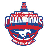 Large Magnet-2017 AAC Conference Champions - Mens Basketball Arched Shadow