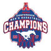 Large Magnet-2017 AAC Conference Champions - Mens Basketball Arched Net