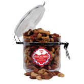 Deluxe Nut Medley Round Canister-SMU w/Mustang