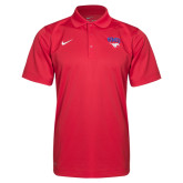 Red NIKE Varisty Polo-
