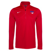 Red NIKE Training 1/4 Zip Top-