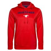 Red NIKE KO Hoody Pullover-