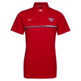 NIKE Red Elite Coaches Polo-