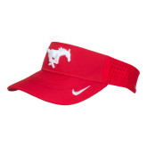 NIKE Red Dri Fit Vapor Visor-