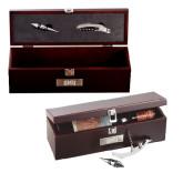 Napa Wine Case-Block SMU Engraved