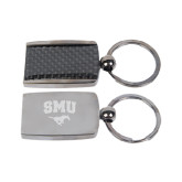 Corbetta Key Holder-SMU w/Mustang Engraved