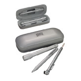Silver Roadster Gift Set-Block SMU Engraved