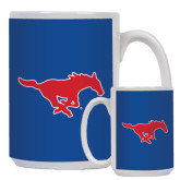 Full Color White Mug 15oz-Official Outlined Logo
