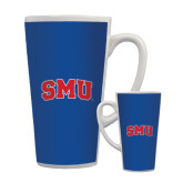 Full Color Latte Mug 17oz-Block SMU