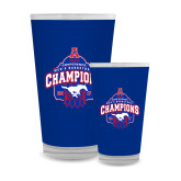 Full Color Glass 17oz-2017 AAC Conference Champions - Mens Basketball Arched Net
