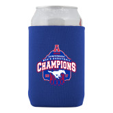 Neoprene Royal Can Holder-2017 AAC Conference Champions - Mens Basketball Arched Net