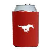 Collapsible Red Can Holder-Official Logo