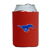 Collapsible Red Can Holder-Official Outlined Logo