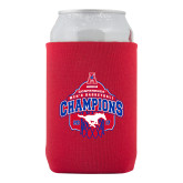 Collapsible Red Can Holder-2017 AAC Conference Champions - Mens Basketball Arched Net