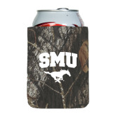 Collapsible Mossy Oak Camo Can Holder-SMU w/Mustang