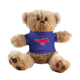 Plush Big Paw 8 1/2 inch Brown Bear w/Royal Shirt-Official Outlined Logo