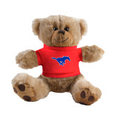 Plush Big Paw 8 1/2 inch Brown Bear w/Red Shirt-Official Outlined Logo