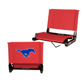 Stadium Chair Red-Official Outlined Logo