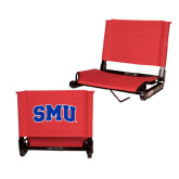 Stadium Chair Red-Block SMU