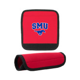 Neoprene Red Luggage Gripper-SMU w/Mustang