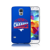 Galaxy S5 Phone Case-2017 AAC Regular Season Champs - Mens Basketball Half Ball