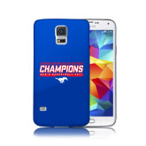 Galaxy S5 Phone Case-2017 AAC Regular Season Champions - Mens Basketball Stencil