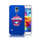 Galaxy S5 Phone Case-2017 AAC Conference Champions - Mens Basketball Arched Shadow