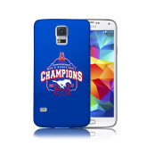 Galaxy S5 Phone Case-2017 AAC Conference Champions - Mens Basketball Arched Net
