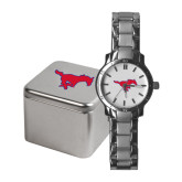 Ladies Stainless Steel Fashion Watch-Official Outlined Logo