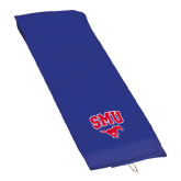 Royal Golf Towel-SMU w/Mustang